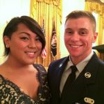 Airman Ireland and his date.
