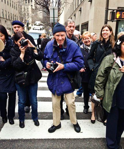 Bill Cunningham on the Street.