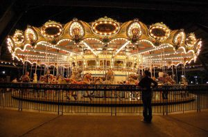 The Kennywood Carousel.