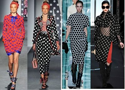 latest polka dot fashion trends