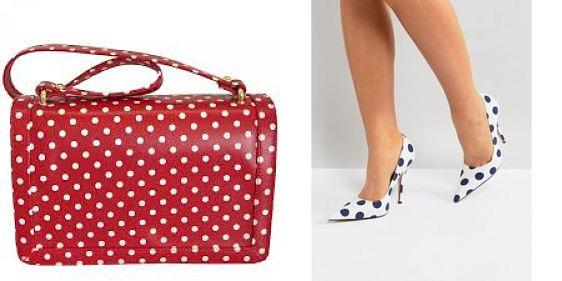 polka dot accessories