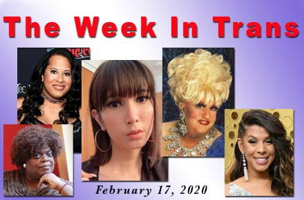 The Week In Trans 2/17/20