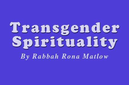 Trans Spirituality