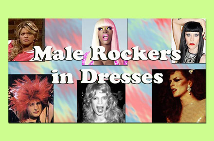Male Musicians Dressing Up